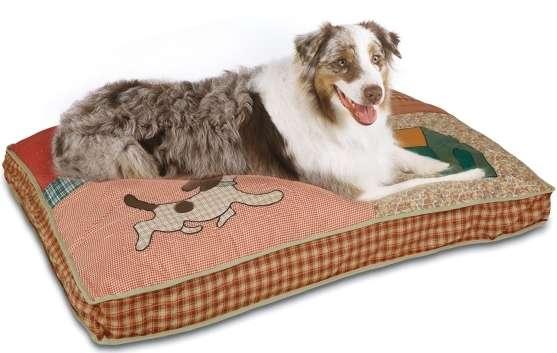 Petmate - Gultai šunims. Minkštas gultas dideliems šunims 102x72x16cm.