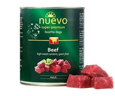 Nuevo Dog Adult Beef - Konservai šunims su jautiena (800g.)