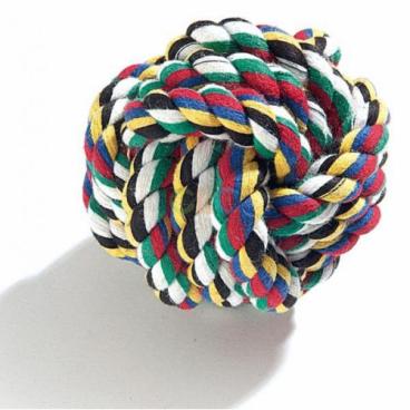 Camon Toy - Žaislai šunims. Kamuolys virvinis (didelis)