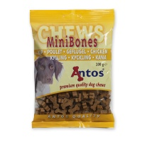 Antos Chews Mini Bones with Chicken - Skanėstai šunims. Maži kauliukai su vištiena (200g.)