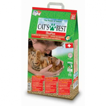 Cat's Best OkoPlus - Naturalus kačių kraikas (10l.)