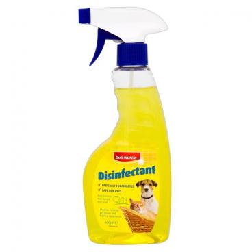 Bob Martin Disinfectant - Dėmėms ir kvapams naikinti. Dezinfekcinė priemonė dėmėms ir kvapams naikinti