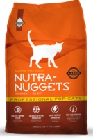 Nutra Nuggets Young and Active Professional for Cats - Sausas maista katėms (3kg.)