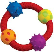 Petstages Multi Texture Chew Ring - Žaislai šunims. Aktyviam žaidimui. Žiedas
