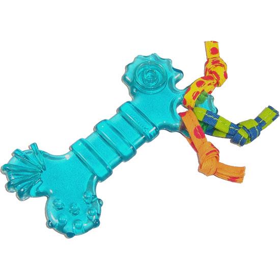 Petstages Orka mini Bone - Žaislai šunims. Aktyviam žaidimui. Kauliuko formos kramtukas su virvėm