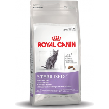 Royal Canin Adult Sterilised 37 - Royal Canin Sausas maista sterilizuotoms katėms (2kg.)