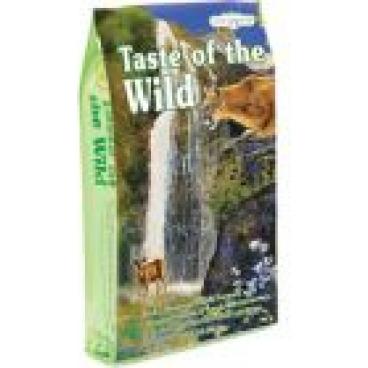 Taste of The Wild with Roasted Venison and Smoked Salmon - Sausas maista katėms su paskruzdinta elniena ir rūkyta lašiša (2kg.)