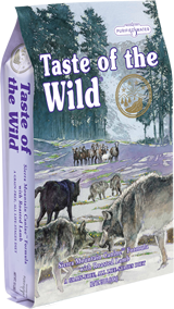 Taste of The Wild with Roasted Lamb - Sausas maistas visoms amžiaus grupėms šunims su paskrudinta ėriena (2kg.)