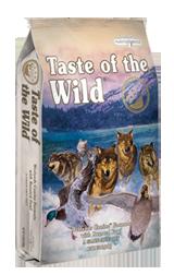Taste of The Wild with Roasted Fowl - Sausas maistas visoms amžiaus grupėms šunims su paskrudinta antiena (2kg.)