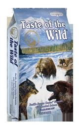 Taste of The Wild with Smoked Salmon - Sausas maistas visoms amžiaus grupėms šunims su rūkyta lašiša (2kg.)