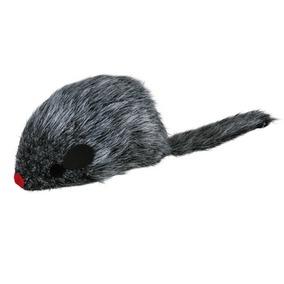 Trixie Cat Toy Mouse - Žaislai katėms. Aktyviam žaidimui. Palė maža pilka