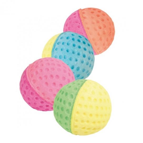 Trixie Cat Toy Soft Balls (4cm.) - Trixie Kamuoliukai katėms. Minkšti ir spalvoti (4cm.)