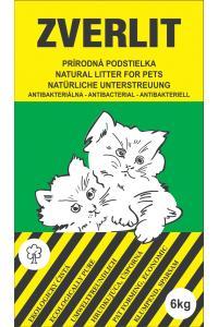 Zverlit Litter For Pets - Kačių kraikas. Grūdelių plotis ≥ 4 mm. (6kg.)