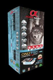 Alpha Spirit Dog Food - Alpha Spirit sausas maistas visų veislių šunims tik iš žuvies (210g.)