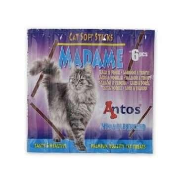 Antos Cat Soft Sticks Madame with Salmon and Trout - Skanėstai katėms su lašiša ir upėtakiu (5g.)