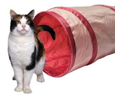 Camon - Žaislai katėms. Aktyviam žaidimui. Žaidimų tunelis katėms (24x85cm.)