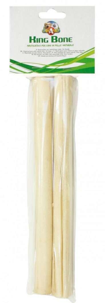 Croci King Bone - Croci skanėstai šunims iš jaučio odos (25cm.x2)