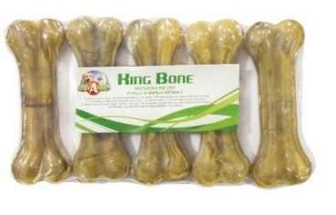 Croci King Bone - Croci skanėstai šunims iš jaučio odos (7,5cm.x5)