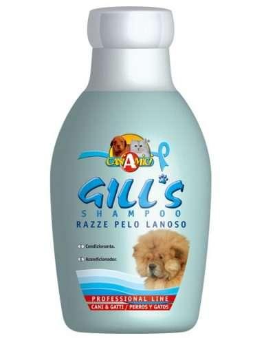Gill's Razze Pelo Lanoso Shampoo - Priežiūros Priemonės Šunims ir Katėms. Šampūnas Šunims ir Katėms. Lengvam Iššukavimui ir Kailio Purumui (230ml.)