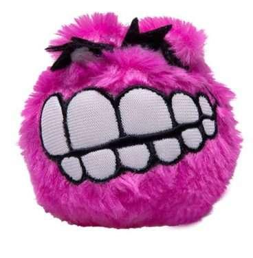 Rogz Fluffy Grinz (4,9cm.) - Rogz žaislai šunims. Minkštas cypiantis žaislas šuniui (4,9cm.)