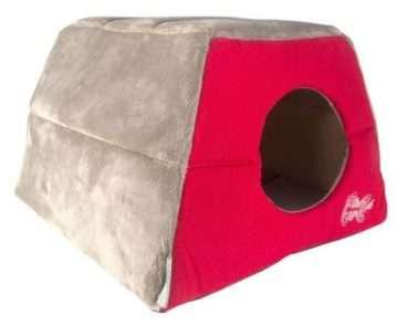Rogz Tango Fishbone - Guoliai katėms. Transformuojamas gultas katėms. Du viename 41x41x30cm.