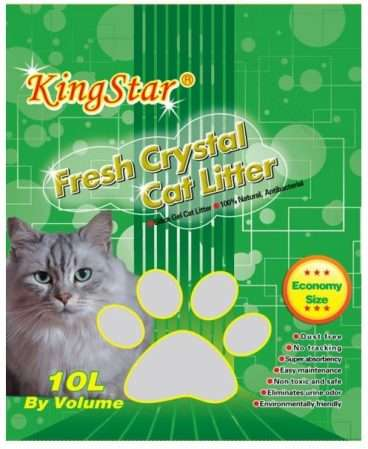 Crystal Fresh Magic Cat Litter - Silikoninis kačių kraikas (10l.)