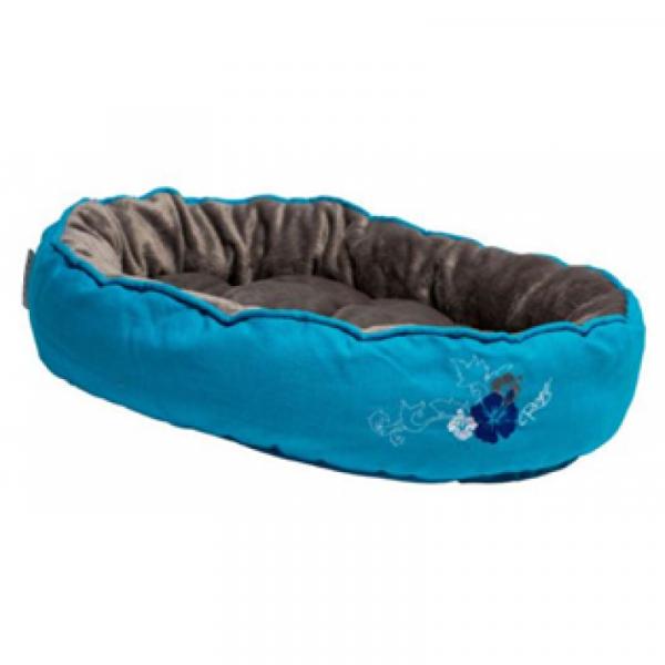 Rogz BLUE FLORAL - Guoliai katėms. Mėlynas 8x32x40cm.