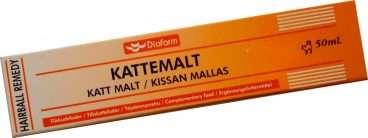 Diafarm Kattemalt (50ml.) - Diafarm vitaminai ir papildai katėms. Pasta nuo kailio prisilaižymo (50ml.)