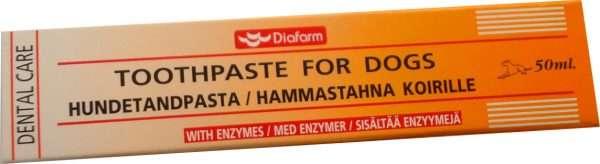 Diafarm Dental Care (50ml.) - Diafarm dantų ir burnos priežiūra šunims. Dantų pasta (50ml.)