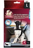 Flamingo Car Safety Harness (L 17-24+kg.) - Flamingo Saugos Diržas su Petnešomis (L 17-24+kg.)