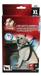 Flamingo Car Safety Harness (XL 24+kg.) - Flamingo Saugos Diržas su Petnešomis (XL 24+kg.)