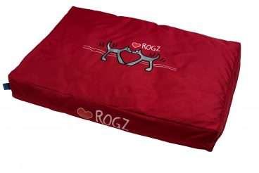 Rogz Dog Bed - Rogz gultai šunims. Minkštas gultas itin dideliems šunims (107x72x11cm.)
