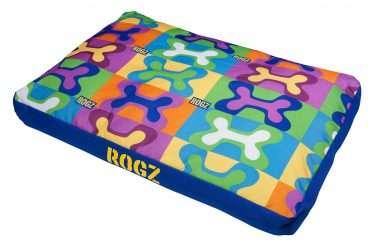 Rogz Dog Bed - Rogz gultai šunims. Minkštas gultas itin dideliems šunims (129x86x12cm.)
