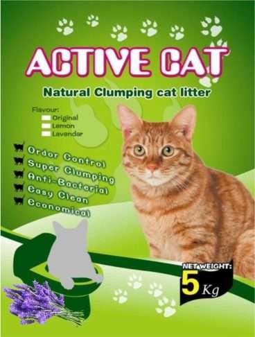 Mio Cat Litter Premium Lavander - Kačių kraikas su lavandos kvapu (5kg.)