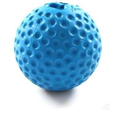 Rogz Gumz Small Blue - Rogz žaislai šunims. Kamuoliukas šunims į kurio vidų gali būti talpinami skanėstai (6,4cm.)