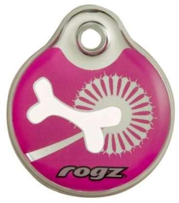 Rogz Pink Bone - Mirksiukai ir Pakabukai šunims. Identifikavimo pakabukas šunims