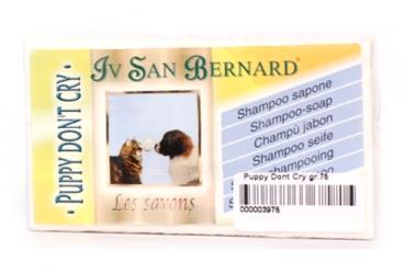 Iv San Bernard Puppy Dont Cry Shampoo - Priežiūros priemonės šunims ir katėms. Šampūnas - muilas šunims ir katėms 75g.