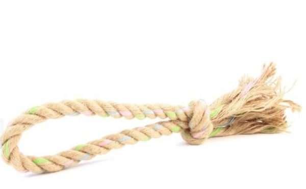 Beco Pets - Žaislai šunims. Džiunglių virvinis žiedas (S)