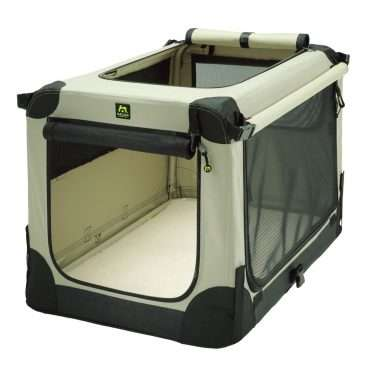 Maelson Soft Kennel 72 - Boksai šunims. Nešiojamas medžiaginis namas-boksas 72x51x51cm.
