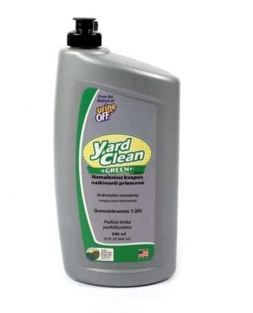 Urine OFF Yard Clean Green - Urine OFF Nemalonius kvapus kiemuose naikinanti priemonė (946ml.)