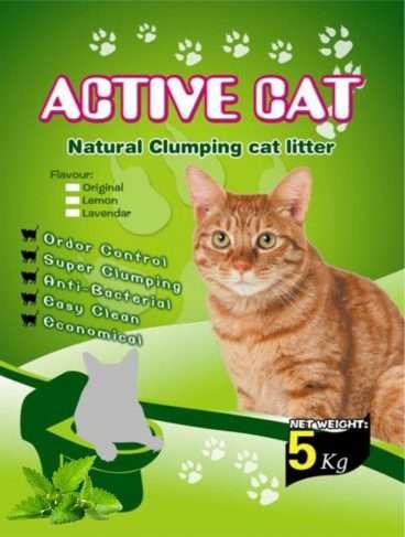 Mio Cat Litter Premium Mint - Kačių kraikas su mėtos kvapu (5kg.)