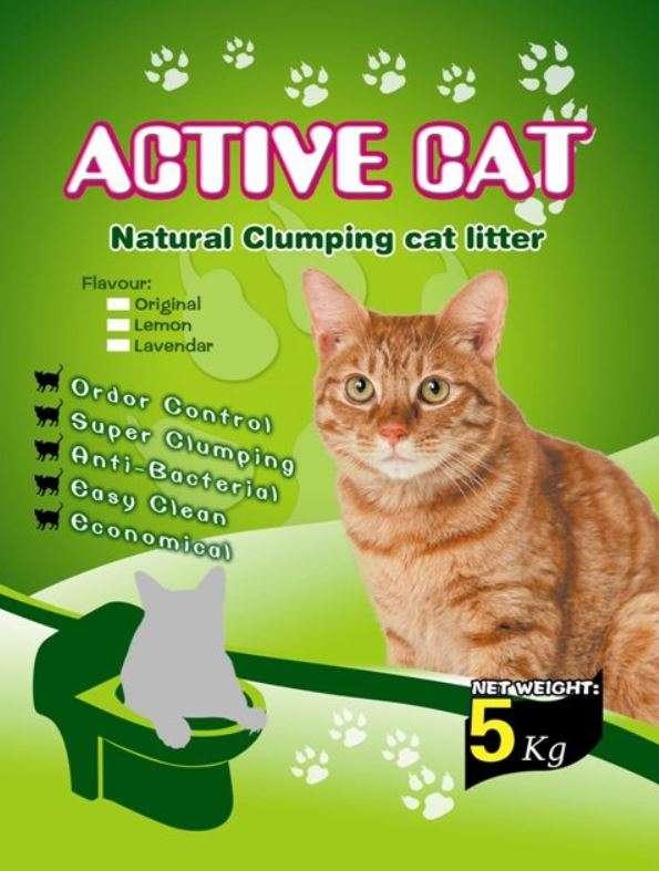 Mio Cat Litter Premium - Kačių kraikas bekvapis (5kg.)