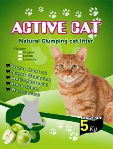Mio Cat Litter Premium Apple - Kačių kraikas su obuolio kvapu (5kg.)