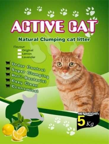 Mio Cat Litter Premium Lemon - Kačių kraikas su citrinos kvapu (5kg.)