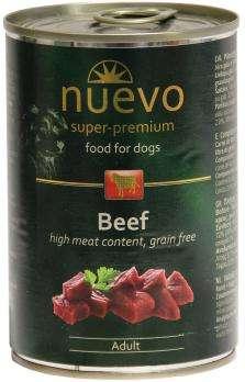 Nuevo Dog Adult Beef - Konservai šunims su jautiena (400g.)
