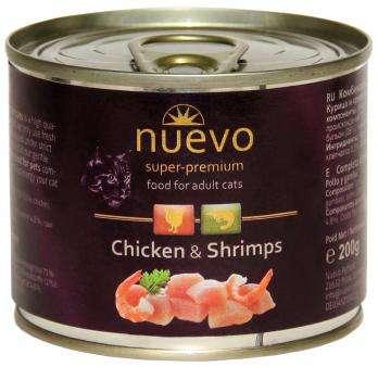 Nuevo Cat Adult Chicken & Shrimps - Konservai katėms su vištiena ir krevetėmis (400g.)