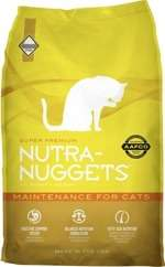 Nutra Nuggets Adult Maintenance for Cats - Sausas maista katėms (3kg.)