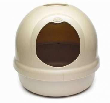 Petmate Litter Dome - Tualetai katėms. Tualetas/Namas apvalus su filtru