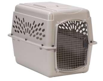 Petmate - Boksai šunims ir katėms. Transportinis boksas šunims ir katėms 58x36x30cm.