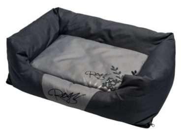 Rogz Dog Bed Silver Gecko - Guoliai šunims. Minkštas guolis šunims 72x45x25cm.
